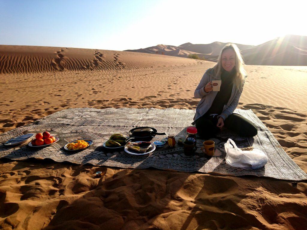 Elizabeth Sunday nomade digitale in Oman