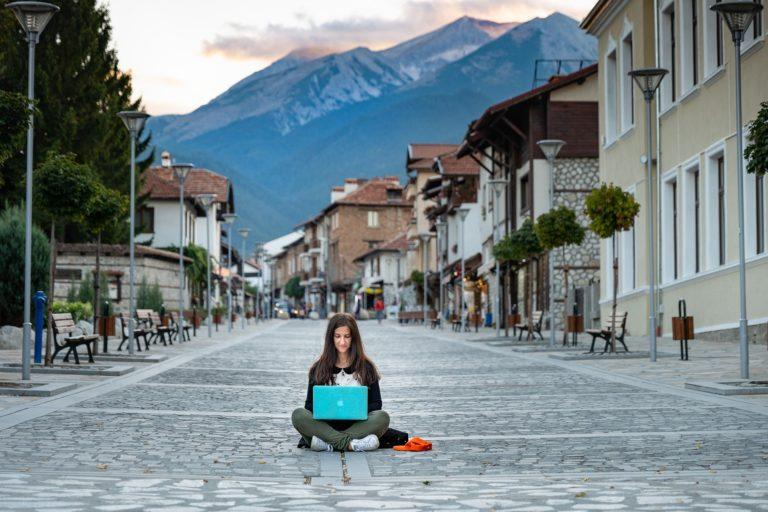 Nomade digitale in viaggio